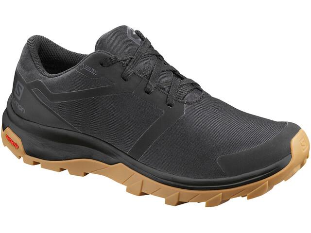 Salomon Outbound GTX Zapatillas Mujer, black/black/gum1a